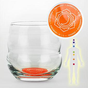 Verre 0.25L Mythos Harmonie Chakra Sacré Coloris Orange
