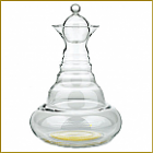 CARAFE FLEUR DE VIE OR 2.3L ALLADIN GOLD NATURE'SDESIGN