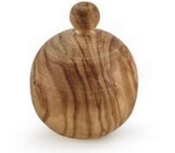 Bouchon bois olivier pour carafe universe 10L