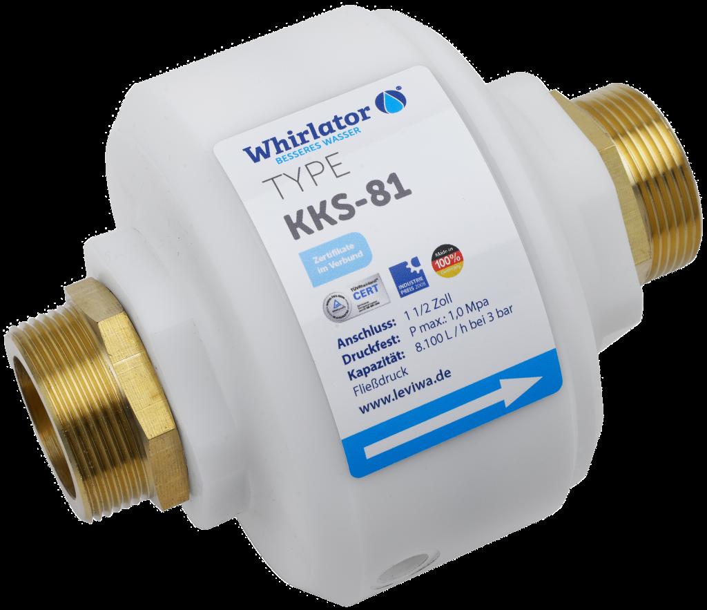 Whirlator® KKS 81 anti calcaire et germicide industrie 10m3/h
