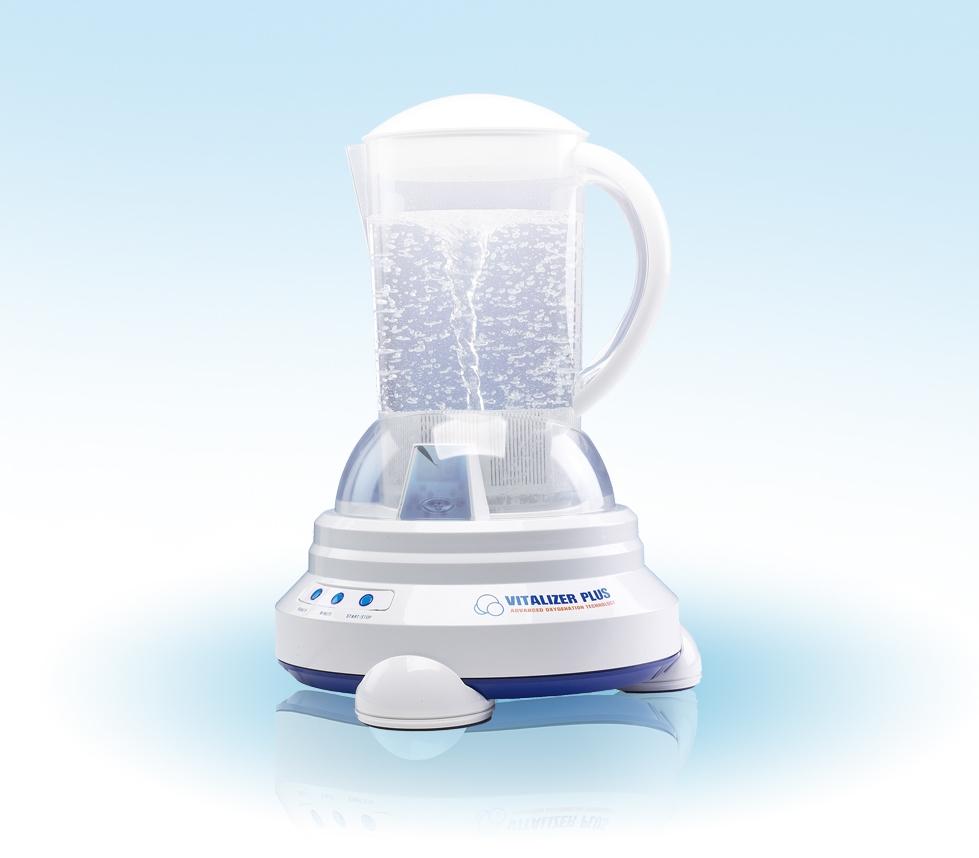 Vitalizer Plus eau dynamisée re-minéralisée par vortex